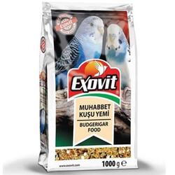 Exovit - Exovit Muhabbet Kuşu Yemi 1000 Gr