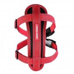 Ezydog - Ezydog Chest Plate Kırmızı Göğüs Tasması M ( Araç Kısıtlayıcısı ile beraber )