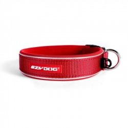 Ezydog - Ezydog Neo Classic Kırmızı Boyun Tasması XS