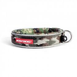 Ezydog - Ezydog Neo Classic Yeşil Kamuflaj Köpek Boyun Tasması Large