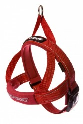 Ezydog - Ezydog Quick Fit Kırmızı Göğüs Tasması XL