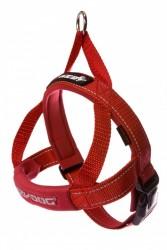 Ezydog - Ezydog Quick Fit Kırmızı Göğüs Tasması XS