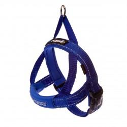 Ezydog - Ezydog Quick Fit Mavi Göğüs Tasması XS
