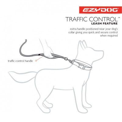 Ezydog Zero Shock Candy Uzatma Kayışı 120 Cm (Traffic Control)