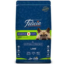 Felicia - Felicia Düşük Tahıllı Kuzu Etli Küçük ve Orta Irk Köpek Maması 3 Kg + 5 Adet Temizlik Mendili