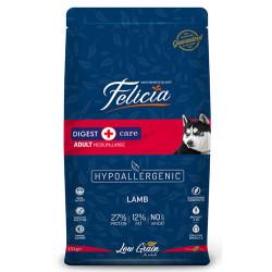 Felicia - Felicia Düşük Tahıllı Kuzulu ve Pirinçli Yetişkin Köpek Maması 15 Kg
