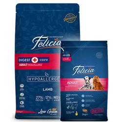 Felicia - Felicia Düşük Tahıllı Kuzulu ve Pirinçli Yetişkin Köpek Maması 15+3 Kg (Toplam 18 Kg)