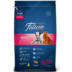 Felicia - Felicia Düşük Tahıllı Kuzulu ve Pirinçli Yetişkin Köpek Maması 3 Kg