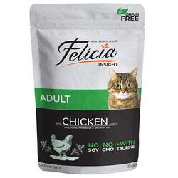 Felicia - Felicia Pouch Tavuk Etli Tahılsız Kedi Yaş Maması 85 Gr