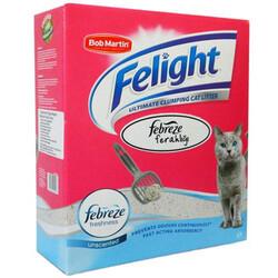 Febreze - Febreze Felight Süper Beyaz Bentonit Topaklanan Kedi Kumu 6 Lt