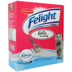 Febreze - Febreze Felight Süper Beyaz Bentonit Topaklanan Kedi Kumu 8 Lt