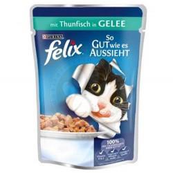 Felix - Felix Pouch Ton Balıklı Yaş Kedi Maması 100 Gr