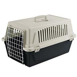 Ferplast - Ferplast Atlas 10 Beyaz Küçük Irk Köpek ve Kedi Taşıma Kafesi 48x32,5x29 Cm