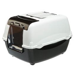 Ferplast - Ferplast Bella Cabrio Filtreli Kedi Tuvaleti 56x43,5x38 Cm (Siyah)
