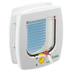 Ferplast - Ferplast Swing 7 Manyetik Mıknatıslı Kedi Kapısı 13,5x13,7 Cm (Beyaz)