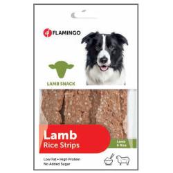 Flamingo - Flamingo 511233 Lamb Rice Strips Kuzu Etli Ödül Çubukları 85 Gr
