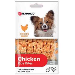 Flamingo - Flamingo 512360 Chicken Rice Bites Tavuk Etli Köpek Ödülü 85 Gr