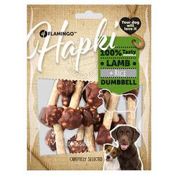 Flamingo - Flamingo 520263 Hapki Kuzu Etli ve Pirinçli Dumbell Köpek Ödülü 150 Gr