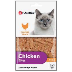 Flamingo - Flamingo Chicken Bites Tavuk Etli Naturel Kedi Ödülü 85 Gr