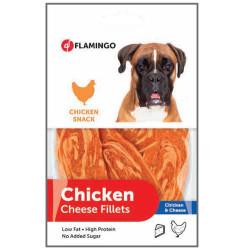 Flamingo - Flamingo 2010042 Chicken Cheese Fillets Tavuk ve Peynirli Köpek Ödülü 85 Gr
