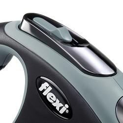 Flexi New Comfort Otomatik Gri Şerit Gezdirme XSmall 3 Mt - Thumbnail