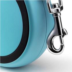 Flexi New Comfort Otomatik Mavi Şerit Gezdirme Small 5 Mt - Thumbnail