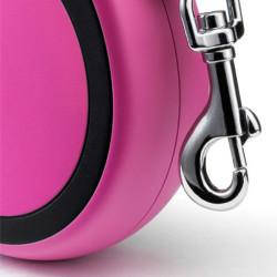 Flexi New Comfort Otomatik Pembe Şerit Gezdirme Small 5 Mt - Thumbnail