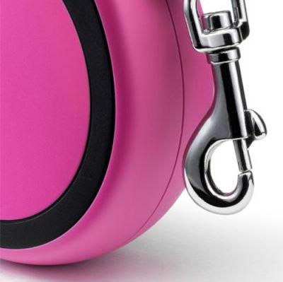 Flexi New Comfort Otomatik Pembe Şerit Gezdirme Small 5 Mt