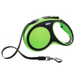 Flexi - Flexi New Comfort Otomatik Yeşil Şerit Gezdirme Large 5 Mt
