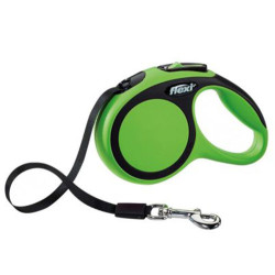 Flexi - Flexi New Comfort Otomatik Yeşil Şerit Gezdirme Small 5 Mt