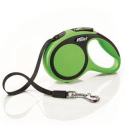 Flexi - Flexi New Comfort Otomatik Yeşil Şerit Gezdirme XSmall 3 Mt