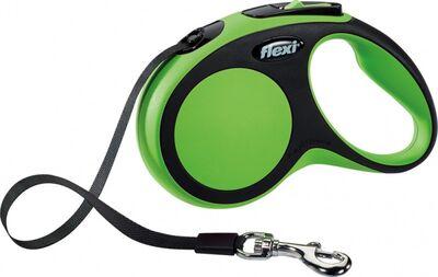 Flexi Yeni Comfort Gezdirme Kayışı S 5M Yeşil