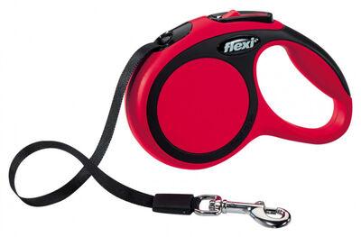 Flexi Yeni Comfort Gezdirme Kayışı Xs 3M Kırmızı