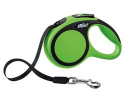 Flexi - Flexi Yeni Comfort Gezdirme Kayışı Xs 3M Yeşil