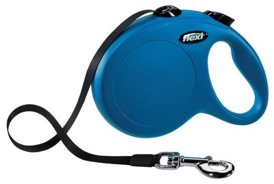 Flexi Yeni Klasik, Şerit Kayış, L: 5 M, Mavi