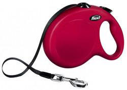 Flexi - Flexi Yeni Klasik, Şerit Uzatma, L 5M Kırmızı