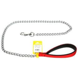 Diğer / Other - Flip Pet PISL-008 Köpek Uzatma Zinciri Kırmızı 0,3x120 Cm