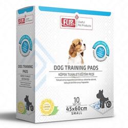 Flip - Flip Training Tuvalet Egitim Çiş Pedi 45x60 Cm - Small (10 Adet)