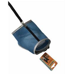 Diğer / Other - Flipper Fileli Kedi Göğüs Tasması + Uzatma Kayışı Seti Mavi