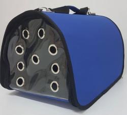 Diğer / Other - Flybag Kedi ve Küçük Irk Köpek Taşıma Çantası Mavi 25x30x40 Cm