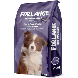 Forlance - Forlance Puppy Lamb Kuzu Etli Yavru Köpek Maması 15 Kg