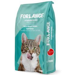 Forlance - Forlance Tavuk Etli Sterilised Kısırlaştırılmış Kedi Maması 15 Kg
