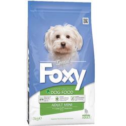 Foxy - Foxy 25 / 16 Small Mini Kuzu Etli Küçük Irk Köpek Maması 3 Kg