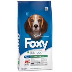 Foxy - Foxy 25 / 16 Tavuk Etli Yetişkin Köpek Maması 15 Kg