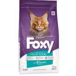 Foxy - Foxy 30 / 15 Somonlu Yetişkin Kedi Maması 3 Kg