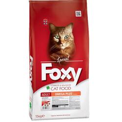 Foxy - Foxy 30/15 Somon Balıklı Yetişkin Kedi Maması 15 Kg