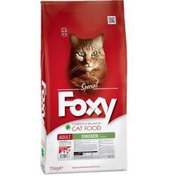Foxy - Foxy 30/15 Tavuk Etli Yetişkin Kedi Maması 15 Kg