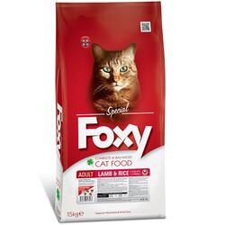 Foxy - Foxy 32/10 Kuzu Etli Yetişkin Kedi Maması 15 Kg