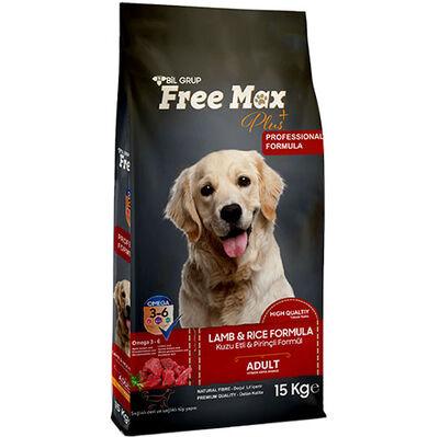 Free Max Lamb Kuzu Etli Yetişkin Köpek Maması 15 Kg