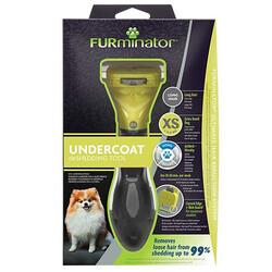 FURminator - FURminator 691693 Long Hair Uzun Tüylü Köpek Tarağı - XSmall